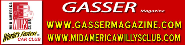 Gasser Magazine - MidAmerica Willys Club Logo
