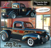 Joe Risk's 40 Willys Pick Up