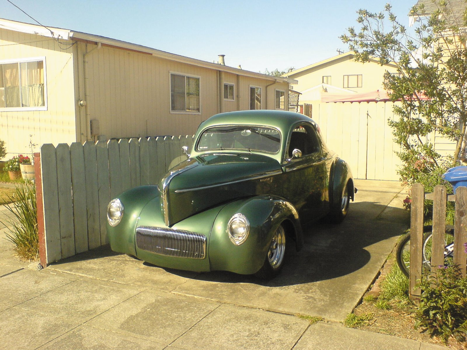 FOR SALE: 1941 WILLYS COUPE.